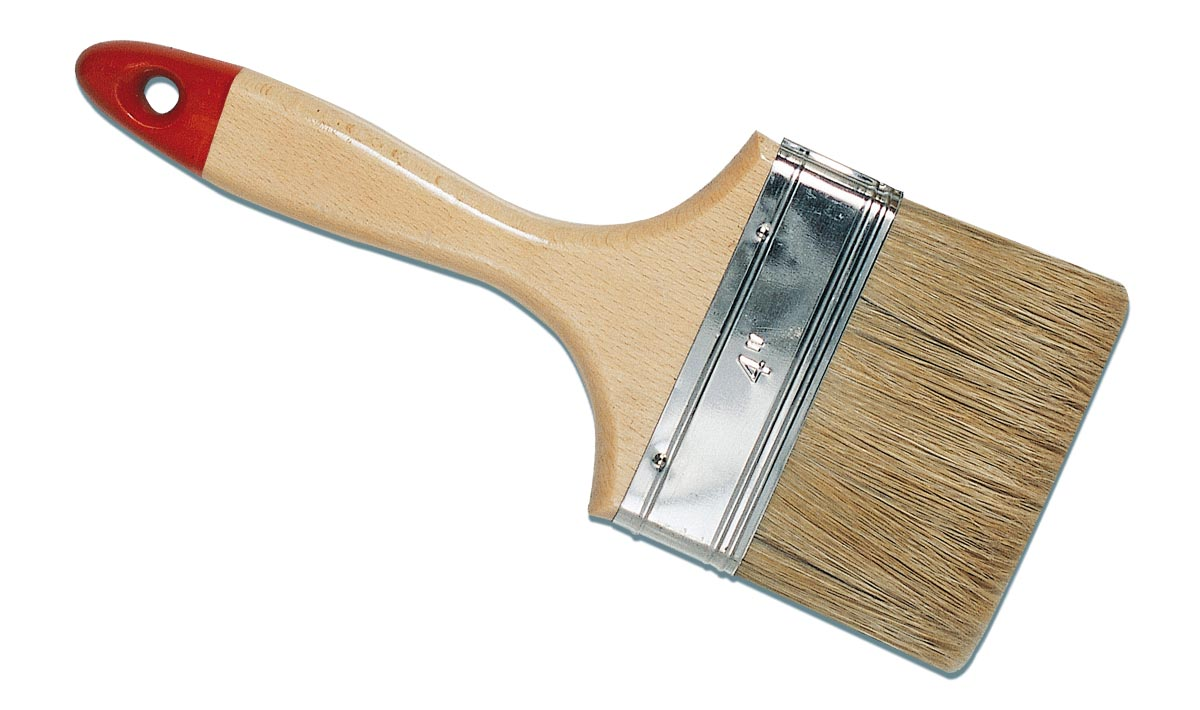 Canary paletina flat handle bristle paint painter