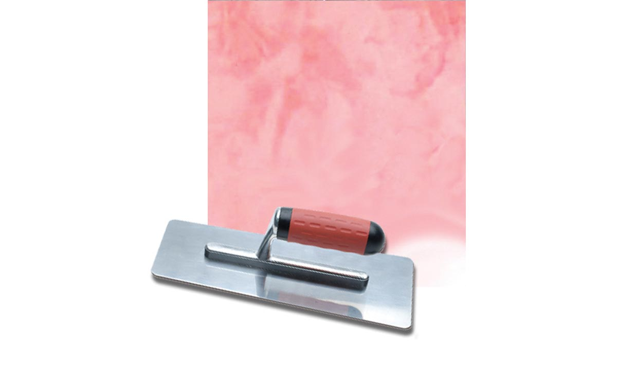 Stainless stucco trowel m / Red Velvet Swing