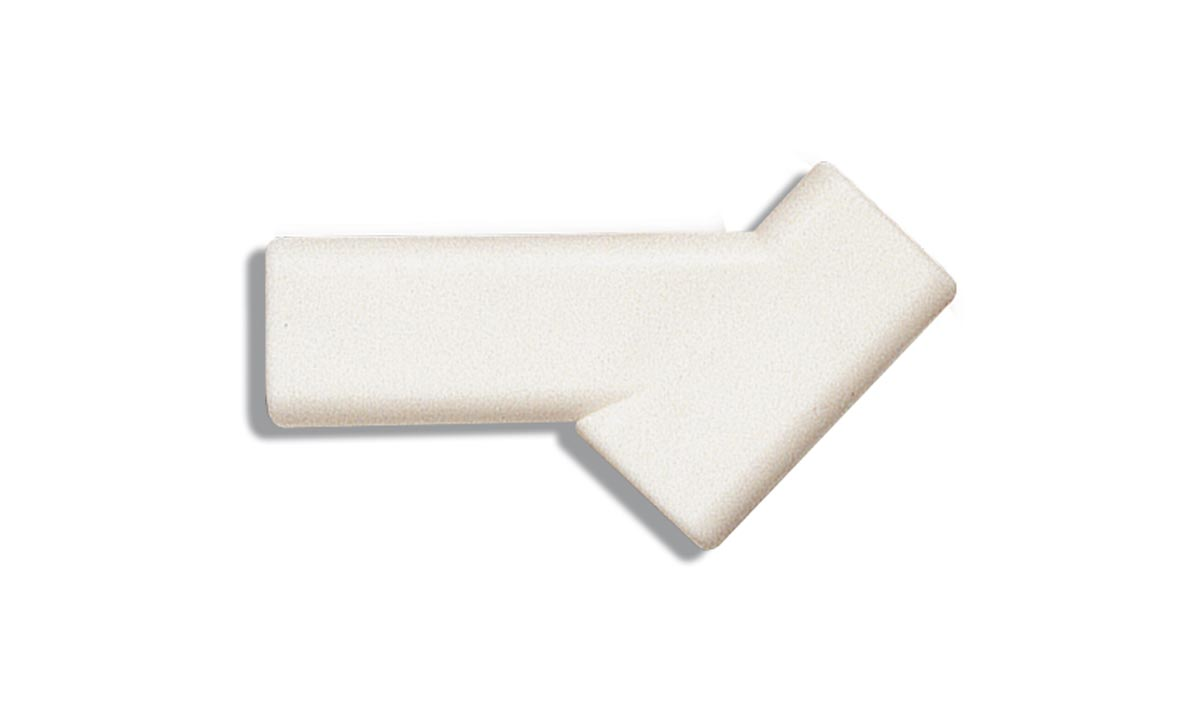 Adapter plastic brush