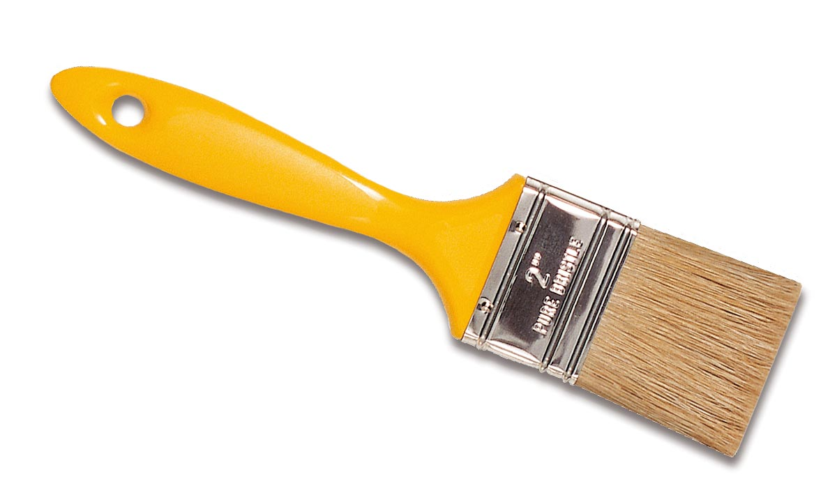 TOOLS PROFESSIONAL PAINTER BRUSHES YELLOW PALETINA