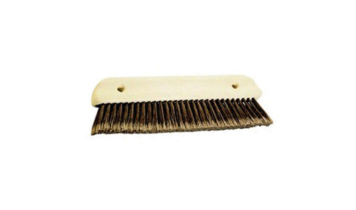 Wallpapering brush fiber