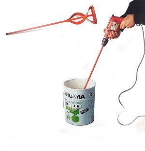 peinture de mélange de l'hélice