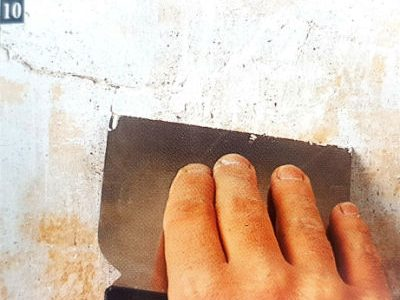 as preparing a wall paint - as preparing a wall before painting