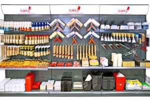 Lineal herramientas para pintar