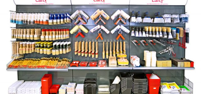 Pinte provedor Stores, fornecimentos industriais, Lojas de tintas